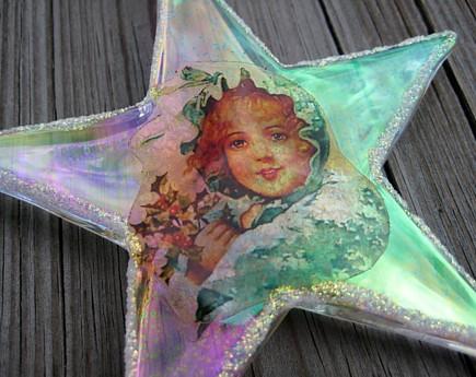 acrylic star ornamnet