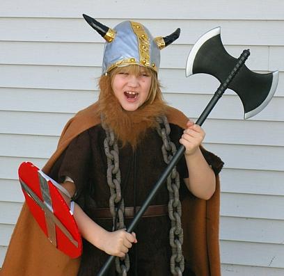 ashley the viking