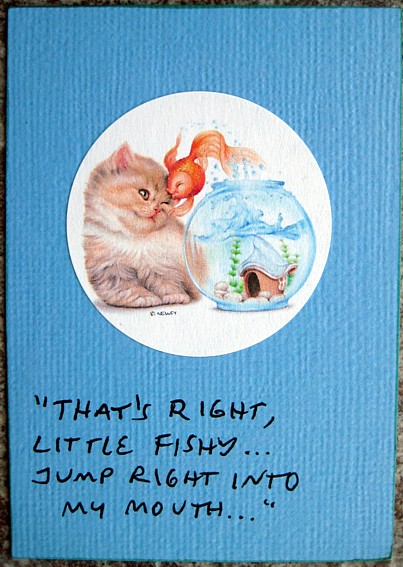 cat sticker atc