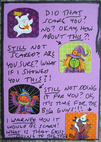 spooky sticker atc