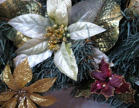 close up wreath
