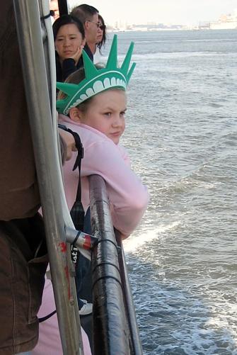 ashley on ferry