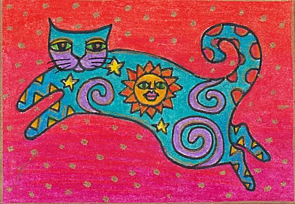 laurel burch inspired sun