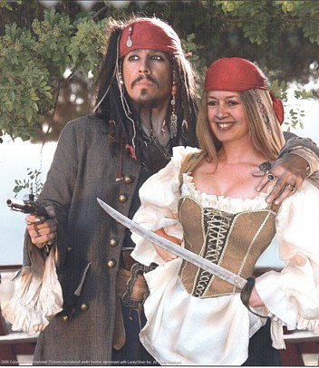 me and jack sparrow