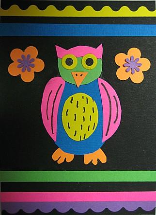retro owl atc