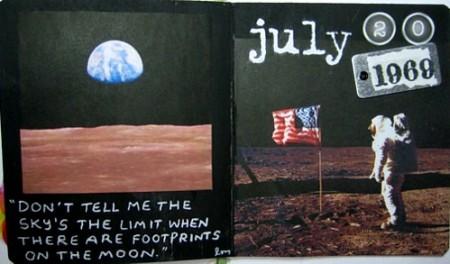 moon walk page