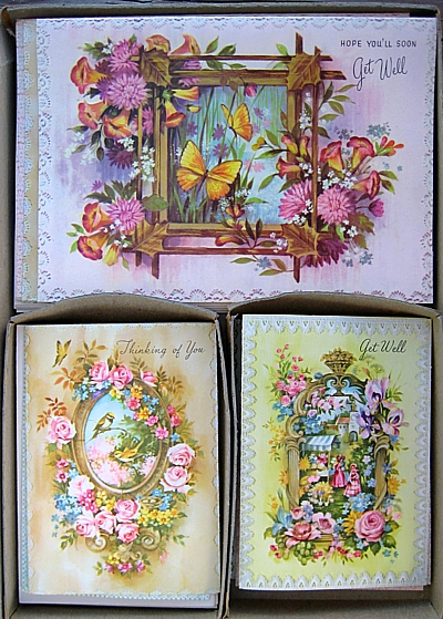 inside notecard box