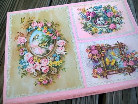 vintage notecards