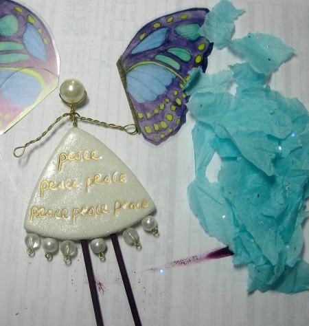 angel tissue wings
