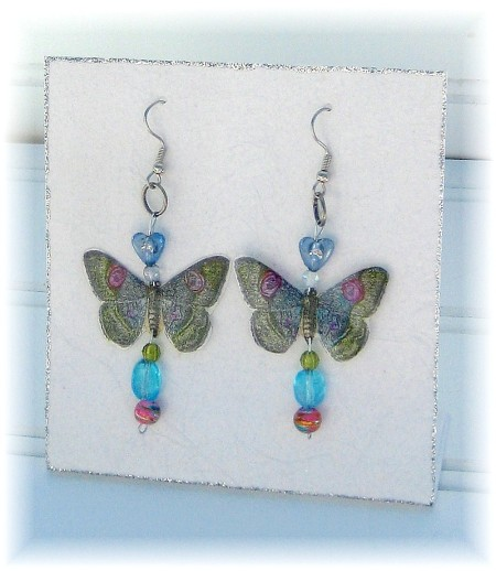 butterfly earrings 1