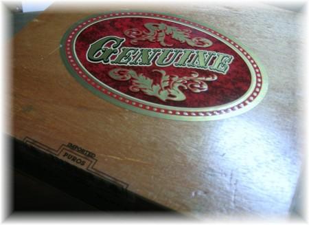 ded cigar box