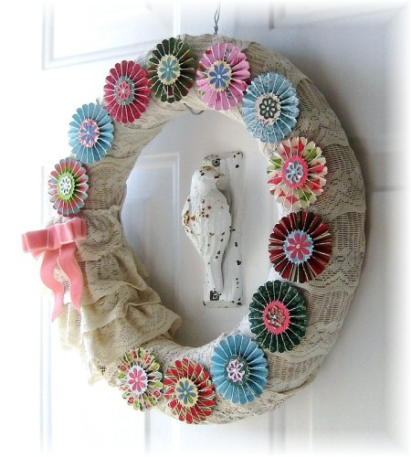 rosette wreath full
