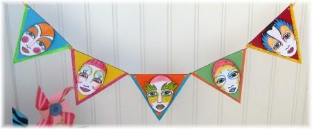 cirque party banner