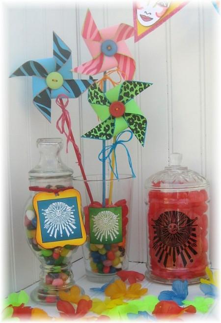 cirque party candy