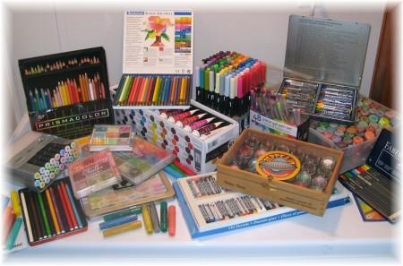 art supplies full
