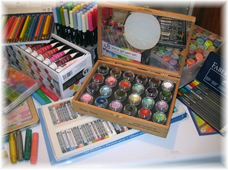 art supplies right