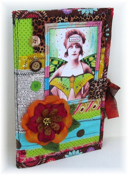 create sewn journal side
