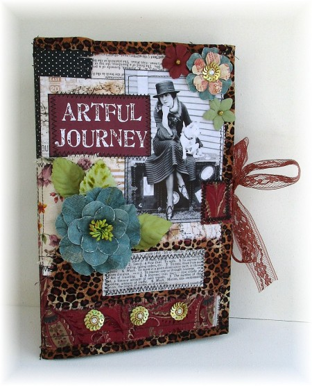 sewn journey journal