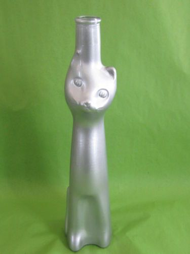 silver cat bottle