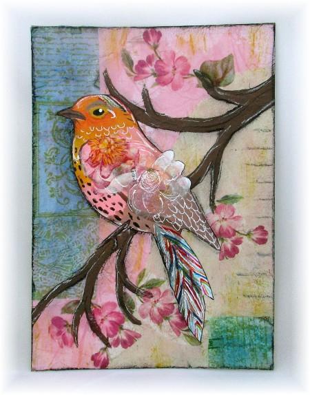 serviette bird sm